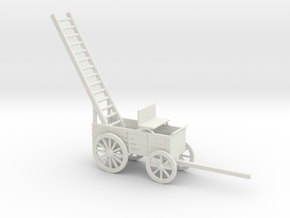TELEGRAPH REPAIR WAGON in White Natural Versatile Plastic