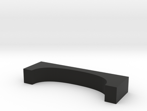 Skateboard J-type platform in Black Natural Versatile Plastic