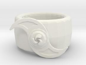 Water ring in White Natural Versatile Plastic