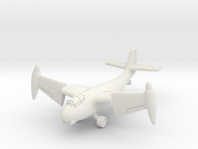 (1:144) Weserflug P.1003/1 (Vertical Take-off) in White Natural Versatile Plastic