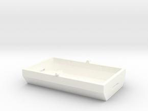 GE U36B Fuel Tank in White Processed Versatile Plastic