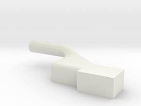 GE U36B shell front-Lamp mid-left white in White Natural Versatile Plastic