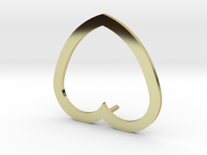 Love  in 18K Yellow Gold: Extra Small