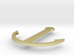 Anchor in 18K Yellow Gold: Extra Small