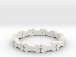 bone in White Natural Versatile Plastic