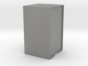 插頭收納盒 in Gray PA12