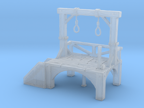 O Scale Gallows in Smooth Fine Detail Plastic