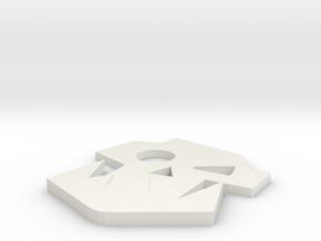 Ork Glyph 3 Medium in White Natural Versatile Plastic