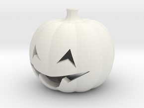 Jack O' the Patch head for ModiBot in White Natural Versatile Plastic