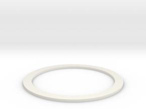 Groco_unfindable_SeaStrainer_Gasket_NinjaFlex v1 in White Natural Versatile Plastic
