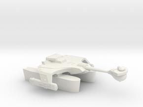 3788 Scale Romulan KRT Fleet Tug with Romulan Pods in White Natural Versatile Plastic