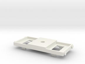 TOMY/Trackmaster Conversion Chassis Version 1 in White Natural Versatile Plastic