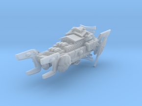 Order of the Shell Space Battleship in Smooth Fine Detail Plastic