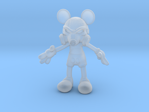 Mickey Gas Mask in Smooth Fine Detail Plastic