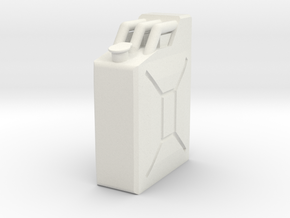 Kanister 1zu10 in White Natural Versatile Plastic