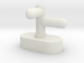 BM5-003 5.5mm Scale Earl of Merioneth Smokebox Dar in White Natural Versatile Plastic