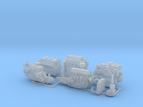 Engines and Transmissions 2 in Smooth Fine Detail Plastic