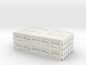 1 to 200 MLRS pod 4 pod stack in White Natural Versatile Plastic