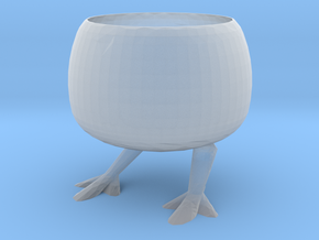 Chicken Flowerpot in Smooth Fine Detail Plastic
