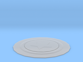 coaster in Smooth Fine Detail Plastic: Extra Small