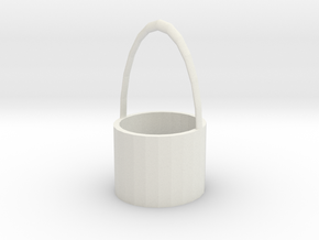 cup sleeve in White Natural Versatile Plastic: Small