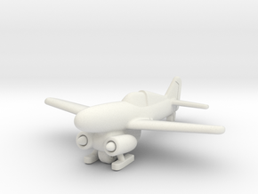 (1:144) Junkers EF.011  in White Natural Versatile Plastic