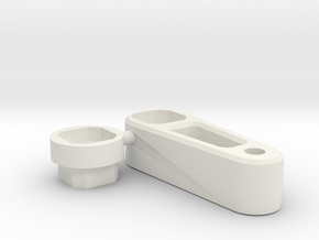 kyosho zx6 post spacer for lipo battery in White Natural Versatile Plastic