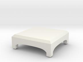 Little Desk in White Natural Versatile Plastic: Medium