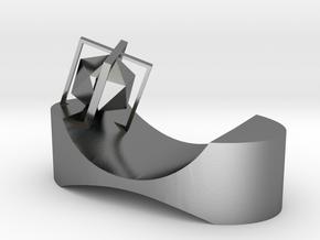 Sight(Chopstick holder) in Polished Silver