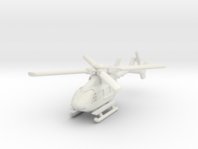 Eurocopter UH-72 Lakota 1/160 in White Natural Versatile Plastic
