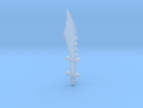 Primitive Sword #1 in Smooth Fine Detail Plastic