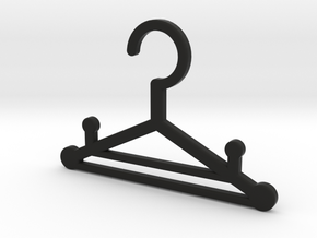 Dog hanger in Black Natural Versatile Plastic