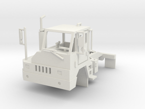 Yard Tractor 1-87 HO Scale White Strong & Flexible in White Natural Versatile Plastic