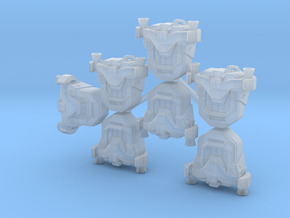 Generic Jetpacks (x7) in Smoothest Fine Detail Plastic