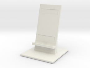Smartphone Holder in White Natural Versatile Plastic