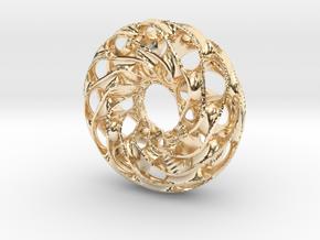 Scherk 25 in 14k Gold Plated Brass