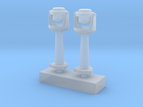 1/125 USN Compass Set x2 in Smooth Fine Detail Plastic