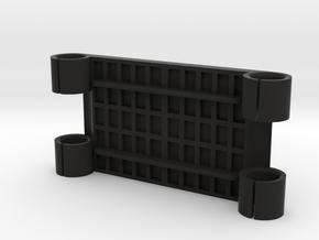 XCS Rails Bracket in Black Natural Versatile Plastic