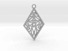 Tiana pendant in Aluminum: Large