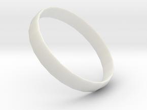 Moonlight ring in White Premium Versatile Plastic