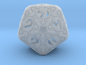 Daedalus D20 in Smooth Fine Detail Plastic