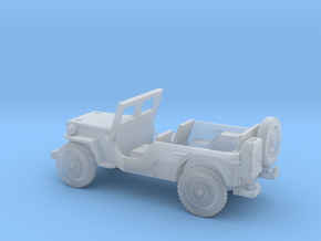 1/100 Scale MB Jeep LWB Assembly in Smooth Fine Detail Plastic
