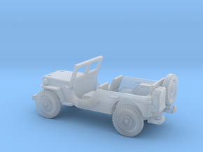 1/160 Scale MB Jeep LWB Assembly in Smooth Fine Detail Plastic