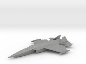 British Aerospace P.125 VSTOL Stealth Fighter in Gray Professional Plastic: 1:200
