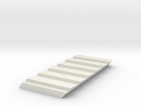 Cowcatcher Insert for Bachmann Mavis in White Natural Versatile Plastic