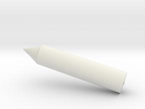 鉛筆 in White Natural Versatile Plastic