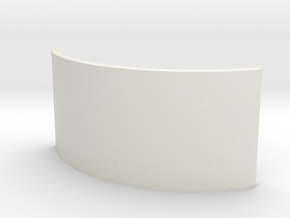 Gold/Brass Accent - (O-Din's Wrath Chassis - P3) in White Natural Versatile Plastic