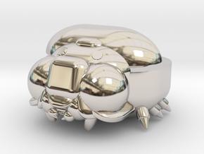 Bug Case in Rhodium Plated Brass: Medium