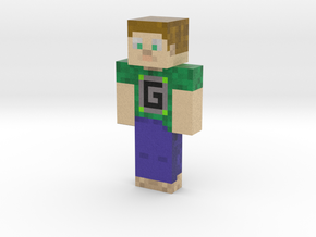 GuudeBoulderfist | Minecraft toy in Natural Full Color Sandstone