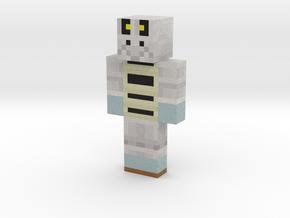 Proudtobeanon | Minecraft toy in Natural Full Color Sandstone